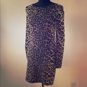 Piko1988 clothing brand! Leopard print dress.
